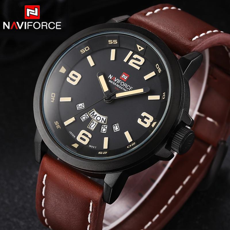 f1085d0410c RELOGIO MASCULINO NAVIFORCE ANALOGICO 9028 – Relógio Naviforce ...